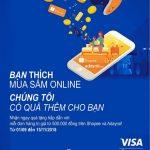 Mua sắm online, trúng thêm nhiều giải cùng thẻ Eximbank Visa