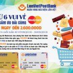 Ưu đãi lớn trên Nguyễn Kim online khi mua sắm bằng thẻ LienVietPostBank MasterCard