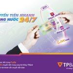 Chuyển tiền nhanh 24/7 vừa siêu tốc vừa miễn phí cùng TPBank
