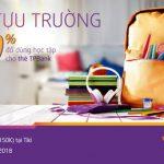Giảm 50% đồ dùng học tập cho thẻ TPBank mùa tựu trường