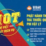 Ví Việt ra mắt dịch vụ phát hành thẻ trả trước quốc tế phi vật lý
