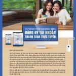 Đăng ký tài khoản thanh toán trực tuyến cùng VietABank