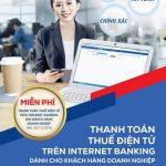 Miễn phí thanh toán thuế điện tử trên Internet Banking của VietABank cho khách hàng doanh nghiệp