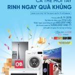 Cà thẻ tín dụng - rinh ngay quà khủng cùng VietinBank