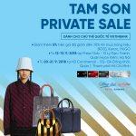 Giảm đến 70% khi mua sắm hàng hiệu tại Tam Sơn cùng thẻ Platinum VietinBank