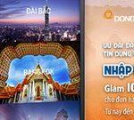Ưu đãi dành cho chủ thẻ Visa DongA Bank tại Klook