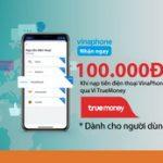 Liên kết Ví điện tử TrueMoney, nhận ngay ưu đãi từ ABBank
