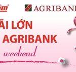 Ưu đãi cho chủ thẻ Agribank tại Nguyễn Kim
