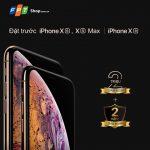 Đặt trước siêu phẩm iPhone XS, XS Max, XR tại FPT Shop dành cho chủ thẻ BIDV