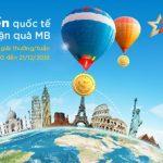 Chương trình khuyến mãi Chuyển tiền quốc tế - Nhận quà MB