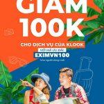Ưu đãi dành cho thẻ quốc tế Eximbank tại Klook