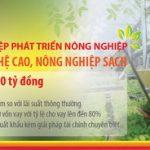 HDBank triển khai Tín dụng xanh cùng nông nghiệp công nghệ cao
