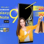 MB hoàn tiền đến 30% và cơ hội nhận mỗi tuần 1 Samsung Galaxy Note 9 128 GB