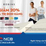 Mua sắm thỏa thích tại Robins cùng thẻ ATM NCB