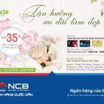 Chăm sóc sắc đẹp tại Oracle Việt Nam với ưu đãi 35% cho chủ thẻ NCB Visa