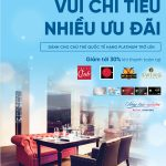 Tận hưởng ưu đãi nhà hàng cao cấp cùng thẻ Platinum VietinBank