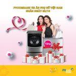 Cùng thẻ ATM PVcomBank tặng quà Nguyễn Kim cho người phụ nữ của bạn