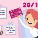 20/10 Bạn có quà với Sacombank Visa Ladies First