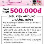 Ưu đãi lớn cùng thẻ SaiGonBank tại Nguyễn Kim