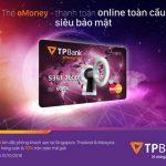 Tpbank eMoney - 2 phút mở thẻ, săn deal Agoda rẻ bất ngờ