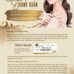 Gửi tiết kiệm tại VietABank, nhận ngay voucher chăm sóc da 6.600.000 đồng