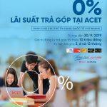 Chủ thẻ VietinBank được miễn lãi trả góp tại Trung tâm Anh ngữ ACET
