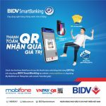 Trúng ngay IPhone X mỗi tuần khi thanh toán cước Mobifone bằng Qr Pay trên ứng dụng BIDV SmartBanking