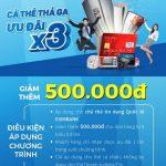 Ưu đãi giảm 500.000 đồng dành cho chủ thẻ tín dụng Eximbank tại siêu thị Nguyễn Kim