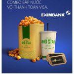 Ưu đãi cùng thẻ Eximbank Visa tại BHD Star Cineplex