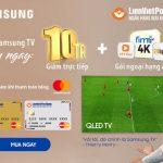 Trải nghiệm bất tận Qled TV đỉnh cao cùng Thierry Henry và LienVietPostBank MasterCard