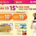 Khuyến mại hot cho chủ thẻ LienVietPostBank MasterCard với VinID