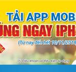 Chương trình khuyến mãi Tải app mobile – Trúng ngay iphone X cùng Nam A Bank