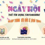 Ngày hội thẻ tín dụng Sacombank
