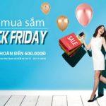 Đua mua sắm mùa Black Friday cùng SCB