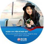 Lo gì vé Tết – Ngại gì quê xa khi có thẻ SCB