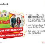 Quẹt thẻ SeABank, tưng bừng mua sắm tại BigC