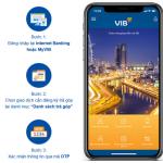Trả góp giao dịch thẻ tín dụng qua MyVIB hoặc Internet Banking