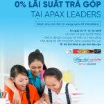 Miễn lãi trả góp học phí tại Apax Leaders cùng VietinBank