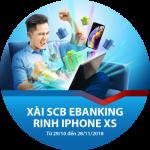 Xài SCB eBanking - Rinh iPhone XS