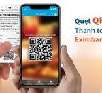 Trải nghiệm thanh toán nhanh với QR Pay trên ứng dụng Eximbank Mobile Banking