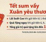 Tết sum vầy, Xuân yêu thương nhận quà tặng hấp dẫn khi gửi tiền VND 6 tháng, 9 tháng và 12 tháng tại Eximbank