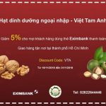 Ưu đãi cùng thẻ Eximbank tại Việt Tam Anh