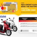 Khuyến mãi khi mua Vinfast bằng thẻ LienVietPostBank MasterCard