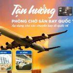 Tận hưởng phòng chờ sân bay quốc tế với thẻ tín dụng MB JCB Sakura Platinum