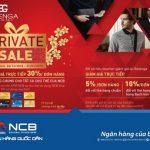 Private sale tại hệ thống thời trang cao cấp Balenga dành cho chủ thẻ NCB