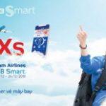 Đặt vé máy bay nhanh chóng với NCB Smart cơ hội trúng ngay iPhone XS