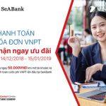 Thêm 1 kênh thanh toán tiện lợi cho khách hàng VNPT qua ngân hàng SeABank