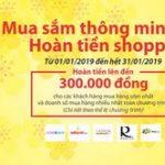 Mua sắm thông minh - Hoàn tiền Shopping cùng Ngân hàng Điện tử SHB