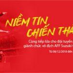 Trọn niềm tin chiến thắng cùng đội tuyển Việt Nam tại AFF Cup 2018 - SHB tăng lãi suất lên đến 8,7%/năm