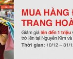 Giảm giá lên đến 1.000.000 đồng dành cho chủ thẻ Techcombank khi mua sắm tại Nguyễn Kim và Điện Máy Chợ Lớn